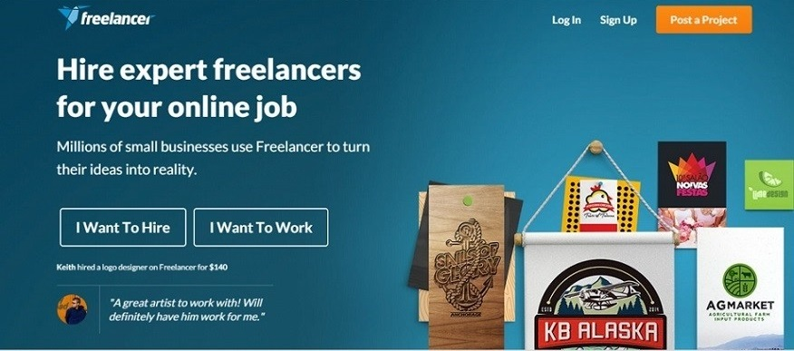 Freelancer - Top freelancing site