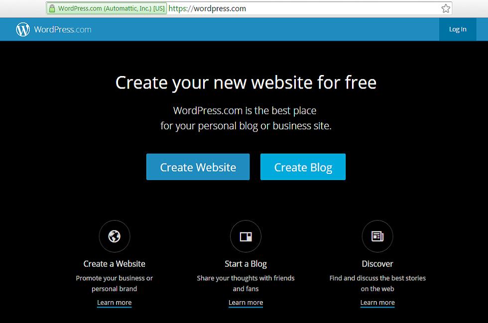 wordpress free blogging best platform