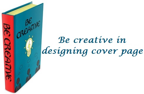 book creative cover