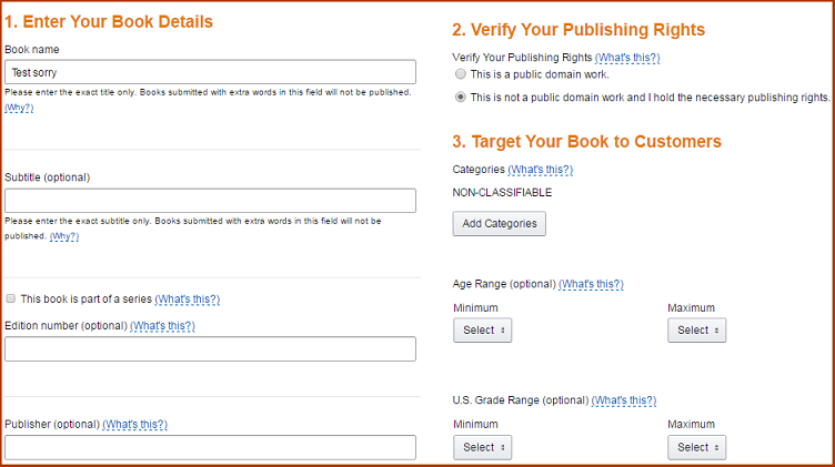 amazon kindle registration process