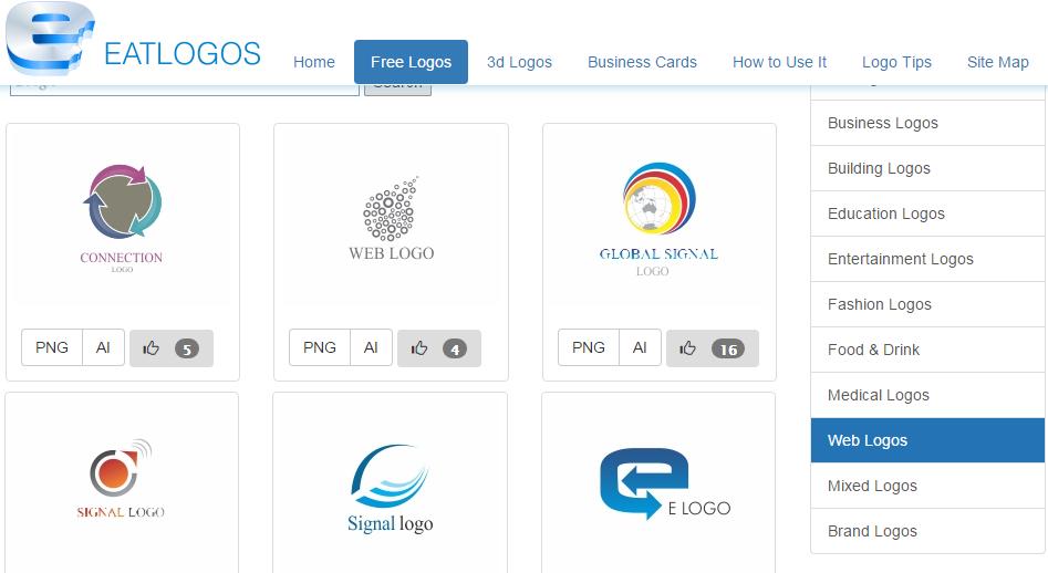 eatlogos-free-logo-design