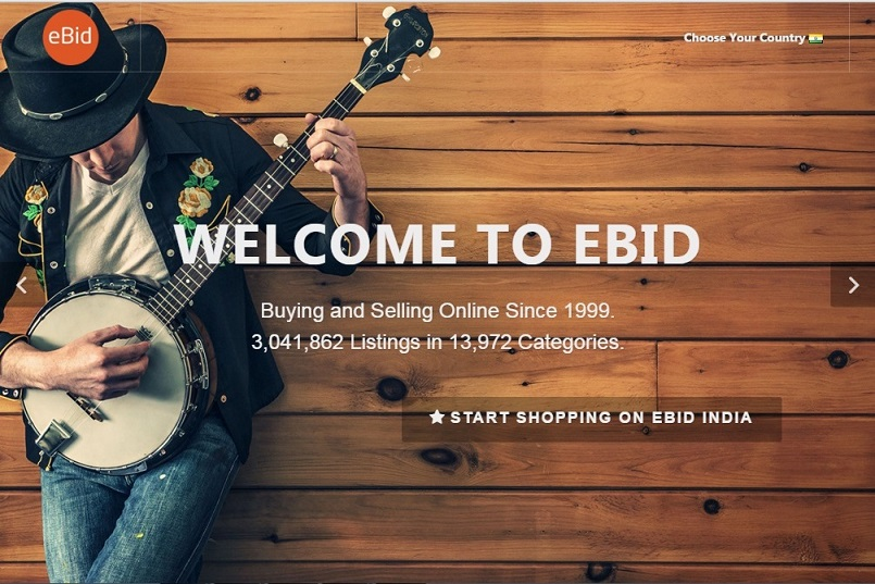 ebid for selling item online