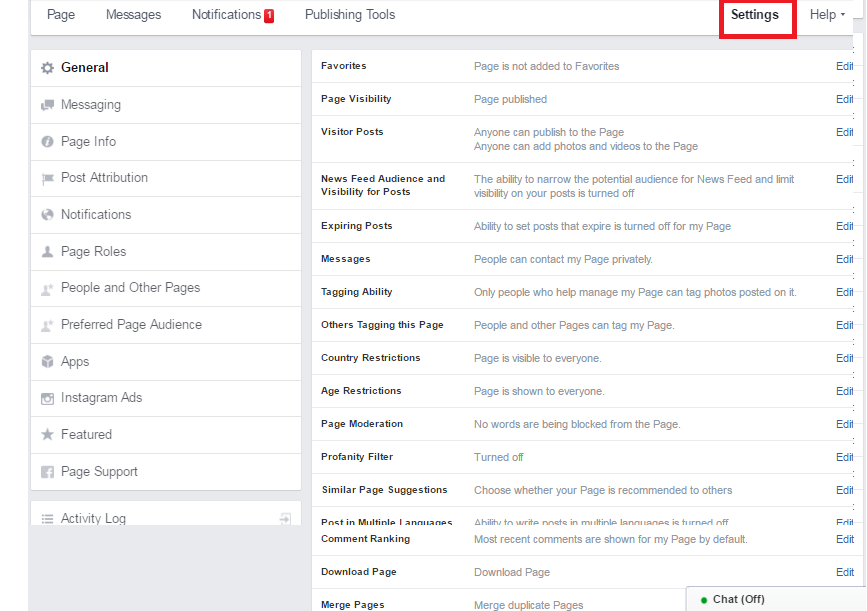 fb-page-setting