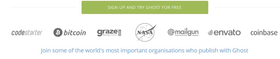 ghost-websites