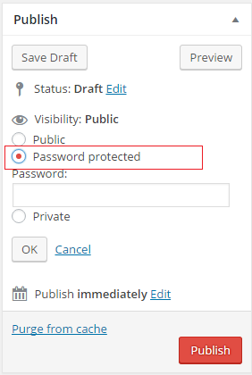 wordpress-post-password-protected