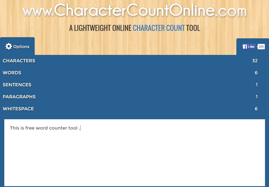 charactercountonline online word counter