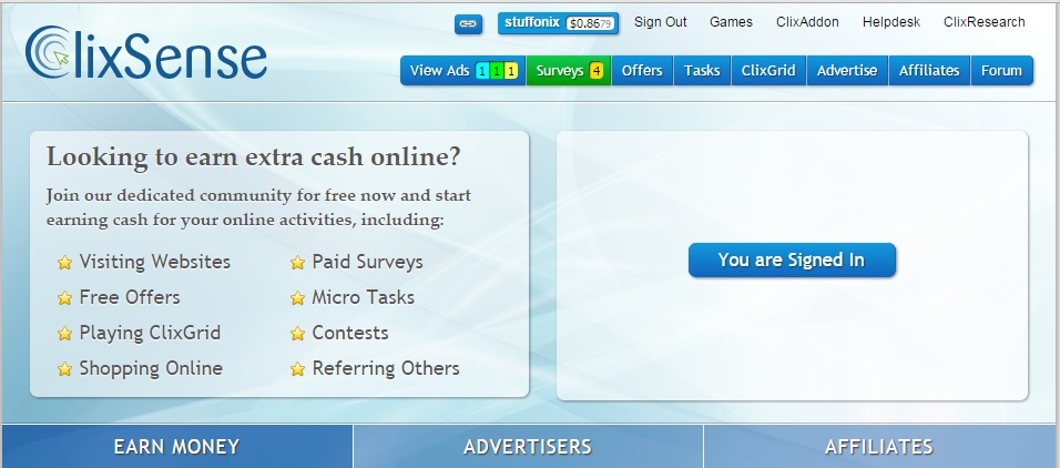 clixsense-earn-online