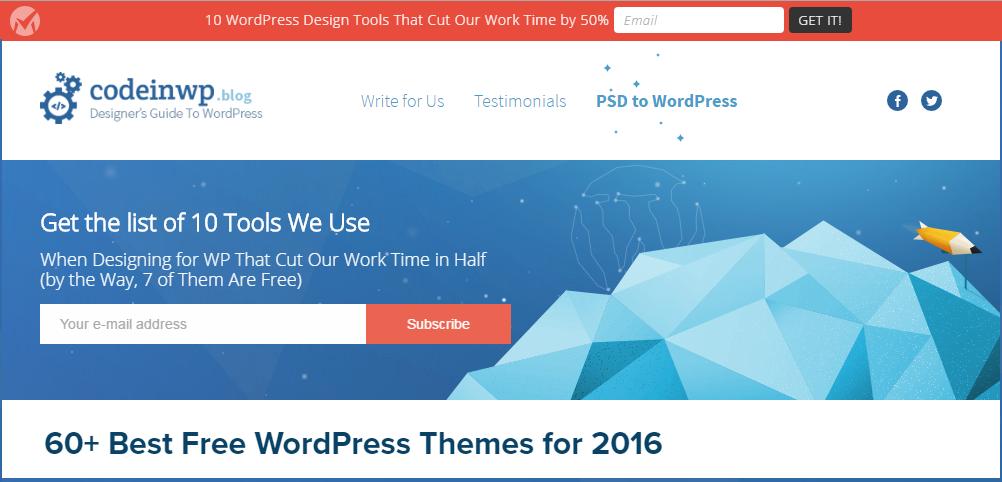 codeinwp free themes