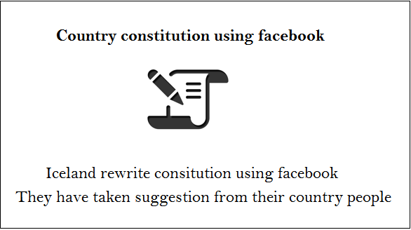 constitution by facebook