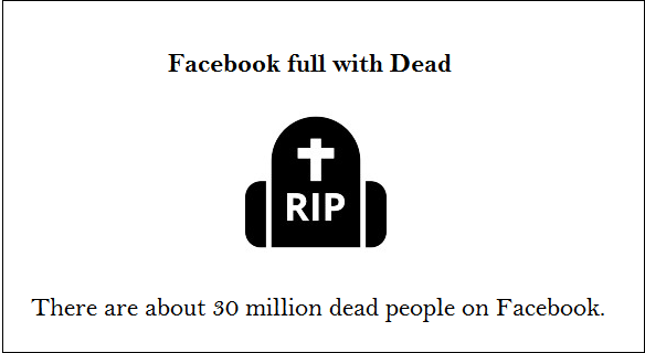 facebook fact about dead people
