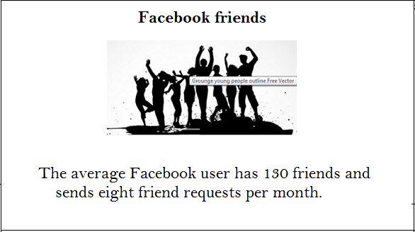 facebook face about friends