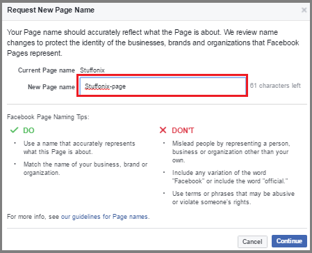 how to add featured for you on facebook page