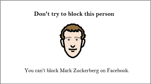 facebook zuckerberg fact