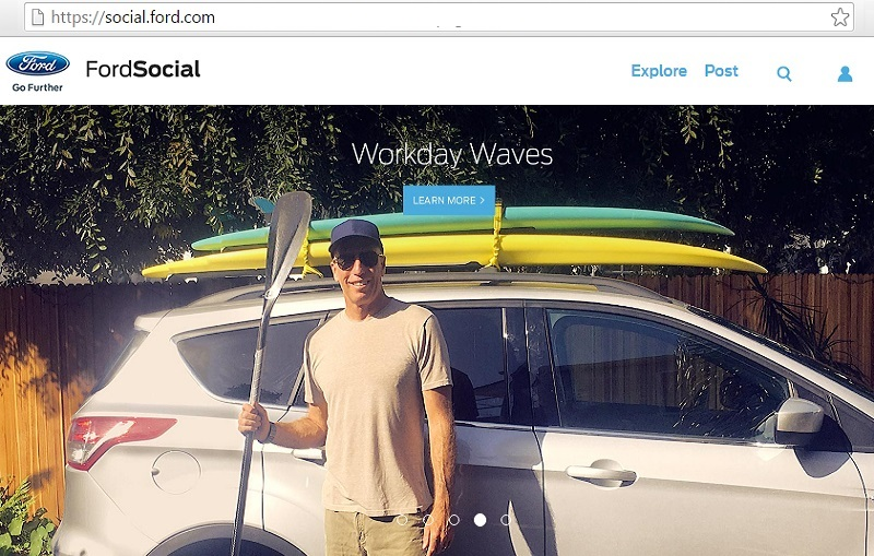 ford social wordpress platfrom