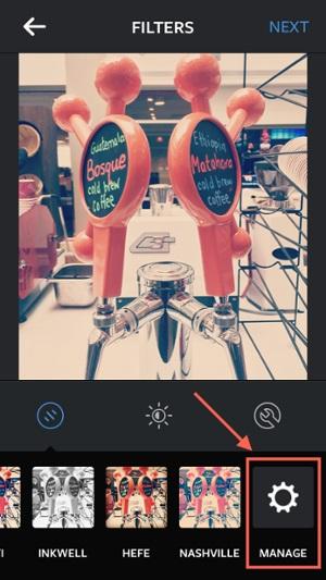 instagram edit filters