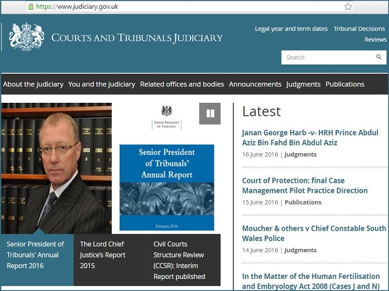 UK government wordpress platform