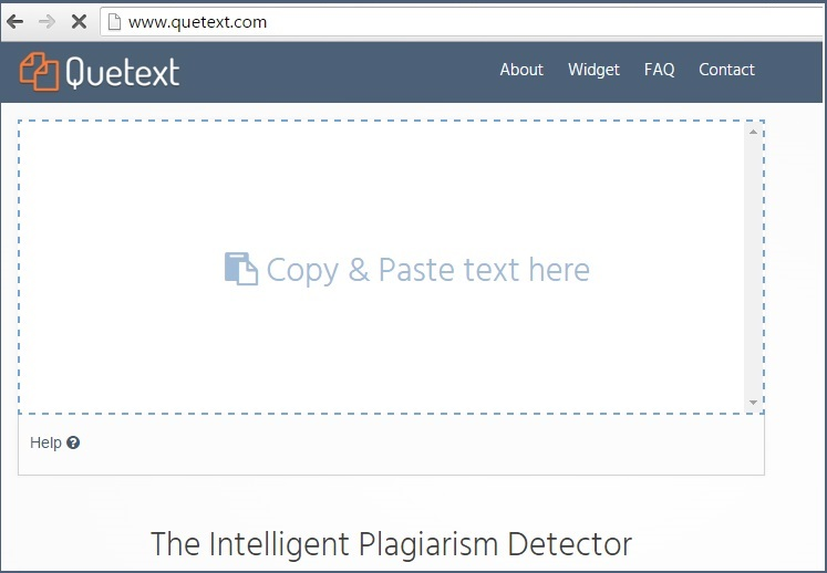 quetext plagiarism tool