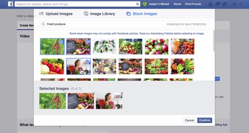 stock image for facebook fanpage