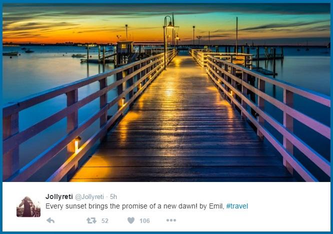 traveling marketing hashtag