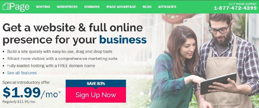 ipage-webhosting