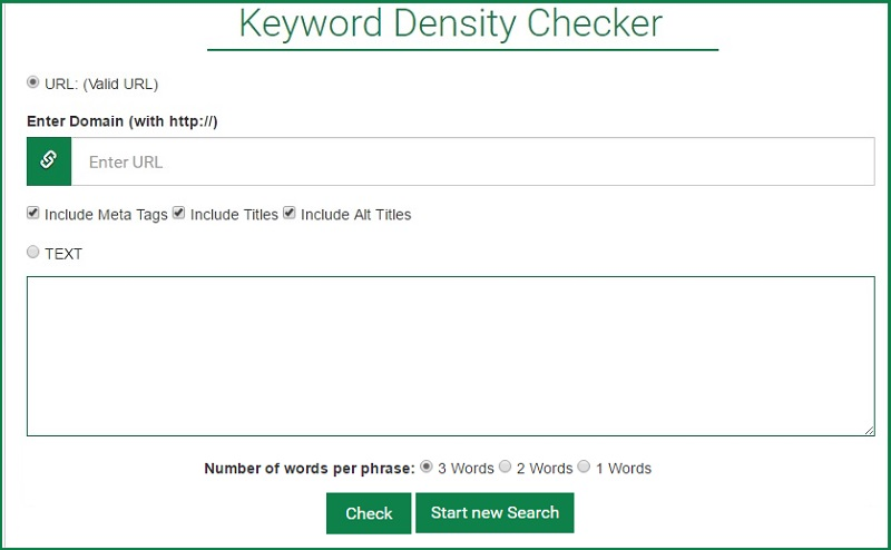 smalltools-keyword-density-checker