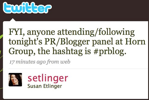 twitter-event-hashtag