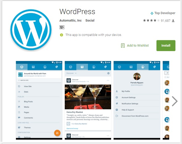 wordpress-android-app