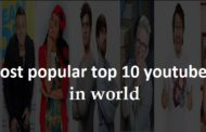 Most popular top 10  youtubers in world