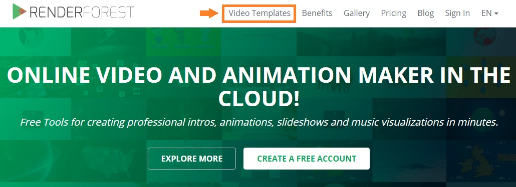 How to create a video intro using best youtube intro maker browse video templates by category tags etc or else you can also use search option to find the right template once youre ready with the template pronofoot35fo Choice Image