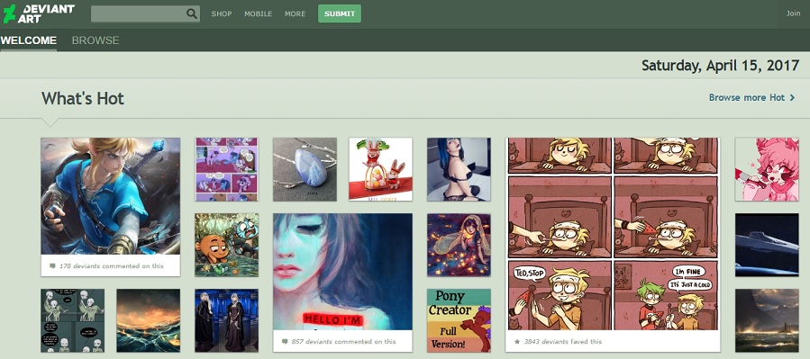 Top 5 best place to make money online by selling painting for Best place to sell your art online